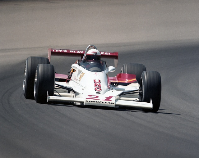Tim richmond on the track by for Indianapolis motor speedway com