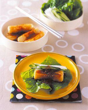 韓国風焼き餅 | 小田真規子さんのレシピ【オレンジページnet】プロに教わる簡単おいしい献立レシピ