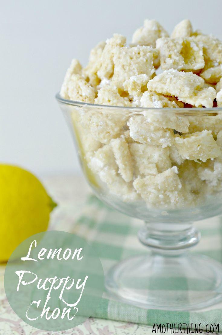 Vanilla Lemon Puppy Chow