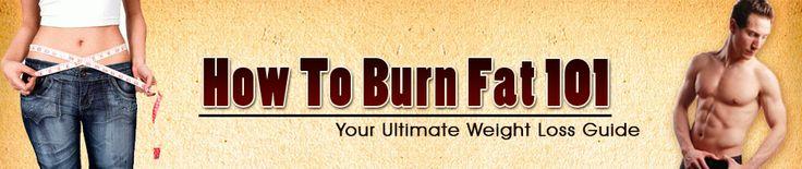 Helpful tips to burn fat.