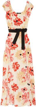 Sonia Rykiel Floral-print silk crepe de chine dress on shopstyle.com  spring/ summer wedding next year - so pretty