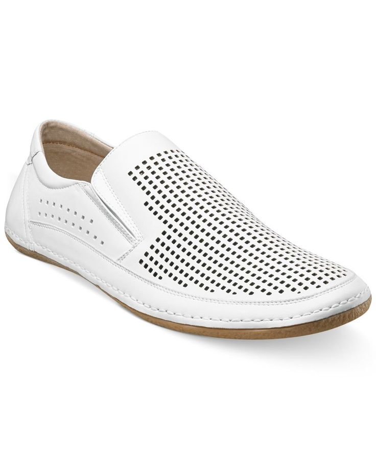 Stacy Adams North Shore Perforated Slip-On Shoes