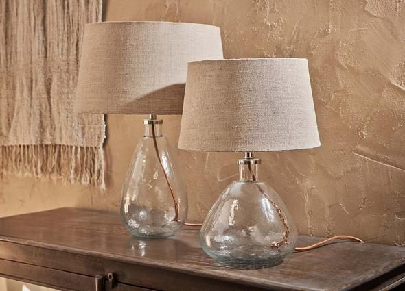 Baba Glass Lamp Clear Glass in 2020