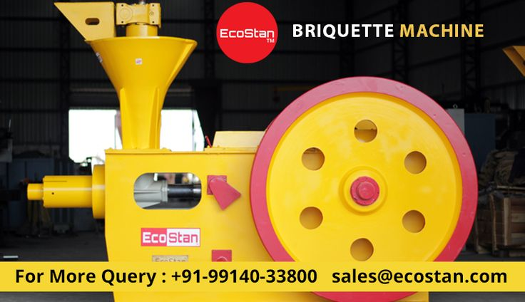 A briquette press turns waste material into uniform-sized briquettes that are easy to store. EcoStan offers all type of quality briquetting press machine. Contact us now.