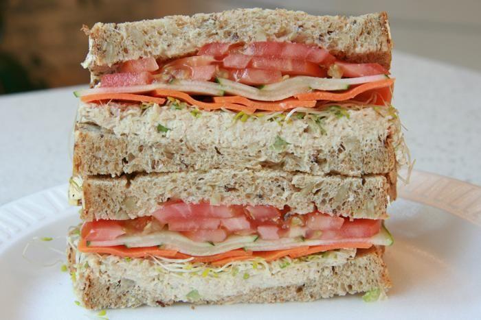 The Birdhouse sandwich. Toasties, NYC