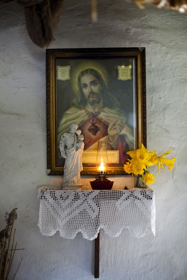 171 best images about a catholic prayer corner on for Altar wall decoration