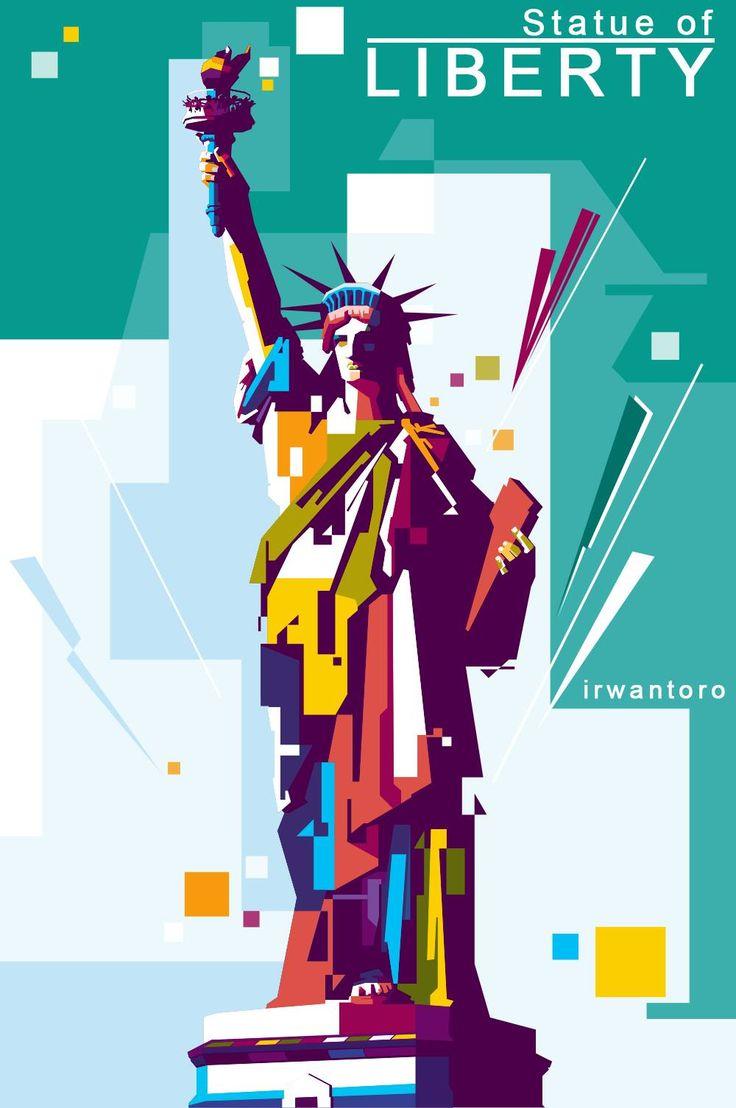 Statue of Liberty di New York, NY