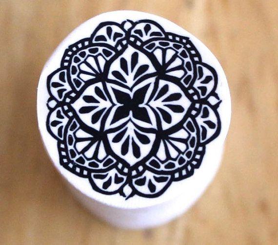Polymer Clay Mandala canne tutoriel par PolymerClayWorkshop sur Etsy