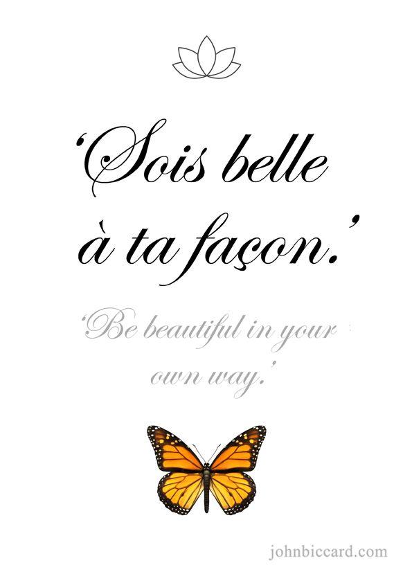 Картинки с цитатами на французском