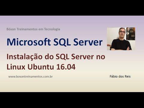 Instalação do SQL Server no #Linux #Ubuntu 16.04