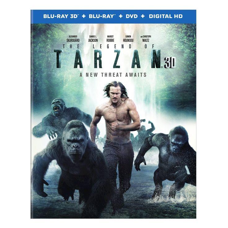 Legend of Tarzan, The (3D + Blu-ray + Dvd + Digital)
