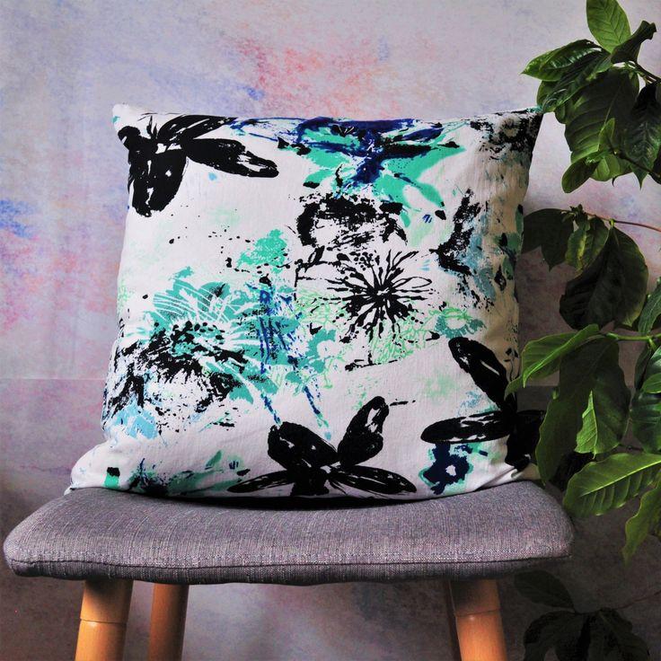 Effervescence Cushion by Denise SL Spalk
