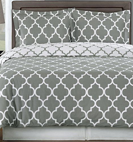 deluxe reversible meridian comforter set egyptian cotton 300 thread count bedding woven with superior singleply yarn 3 piece twintwin extra long size