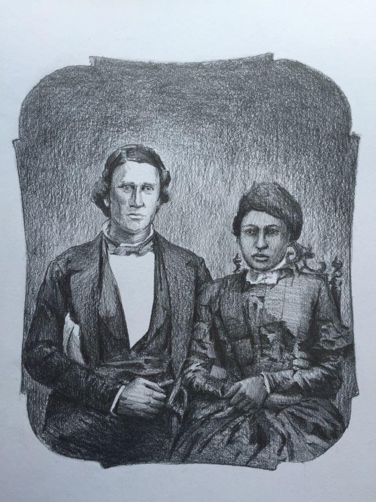 Pascal 'Pony' & Melinda Conley Sketches, Historical