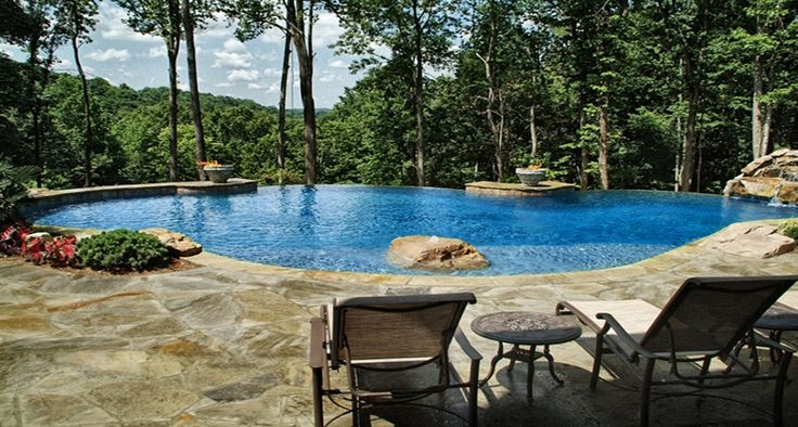 27 Best New House Pool Deck Images On Pinterest Backyard Patio Designs Pools And Backyard
