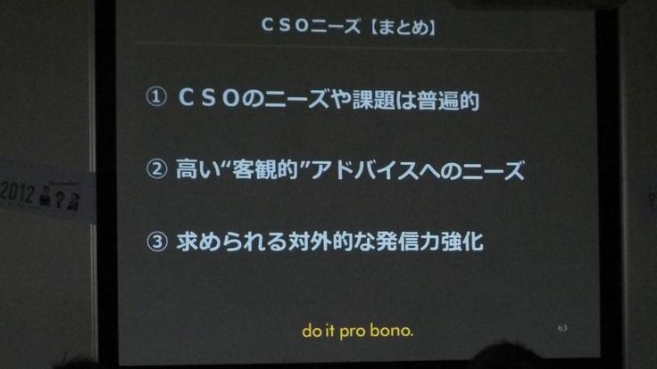 佐賀のCSOプロボノニーズ まとめ