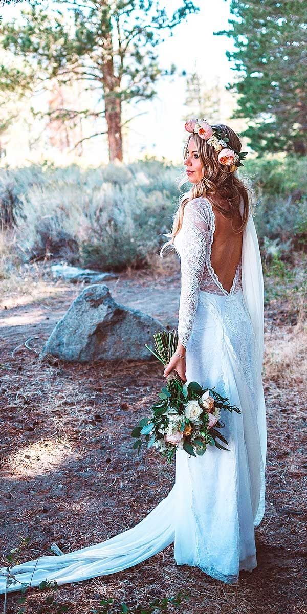 24 rustic bridal gowns to be a charming bride