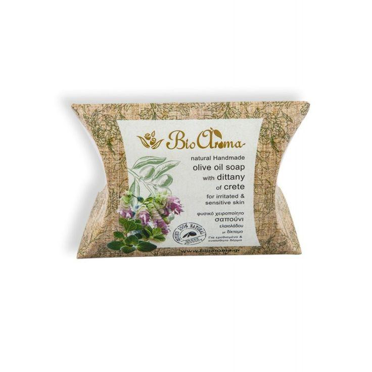 Handgemaakte olijfolie zeep met Dittany. tegen een geirriteerde huid
