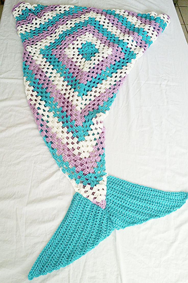 Mermaid Tail Blanket Mermaid Blankets Crochet Mermaid