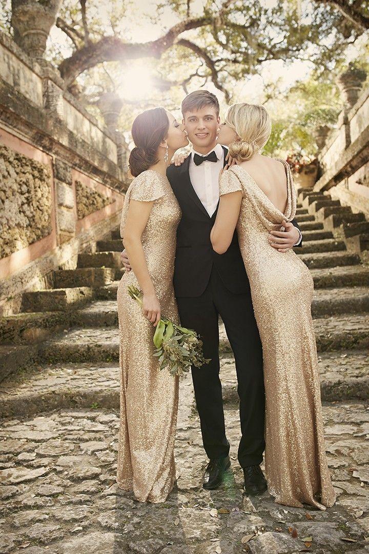 These Sorella Vita dresses truly make weddings seem like a fairytale