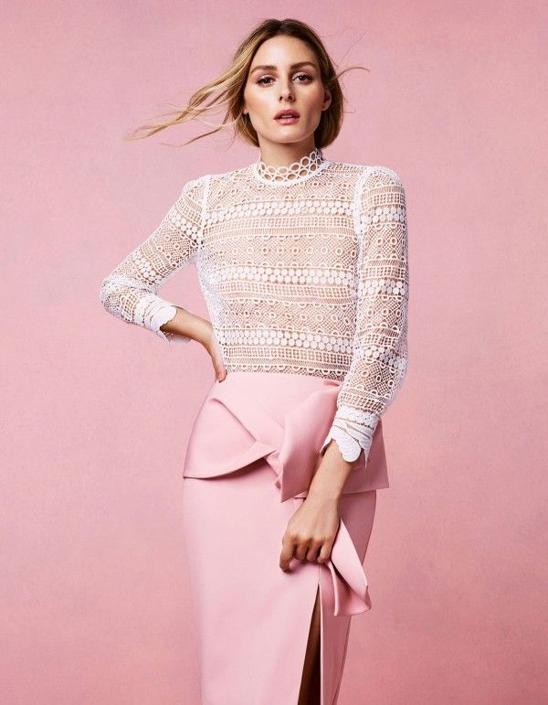Coast Stores, SS17 Campaign with Olivia Palermo shot by Rachell Smith