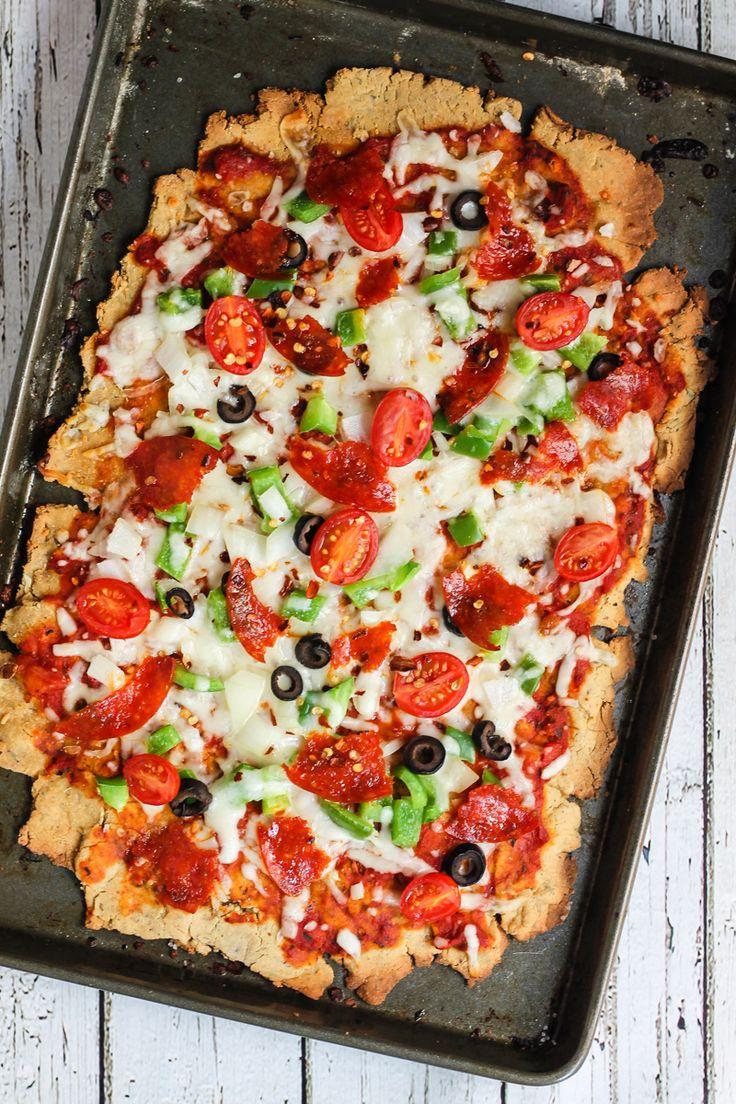 Crispy Supreme Flatbread Pizza Crust Ambitious Kitchen