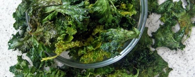Chips de kale – Snack bajo en calorías