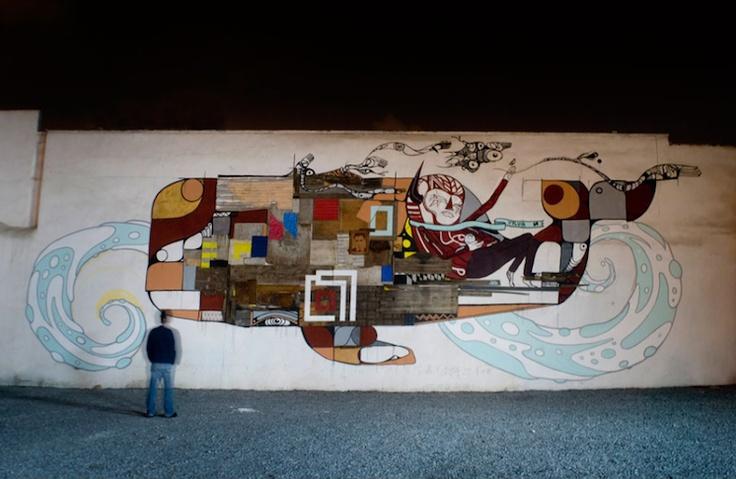 LOS CONTRATISTAS. Colectivo de arte independiente establecido en Nuevo León. Presentes en Entijuanarte 2012