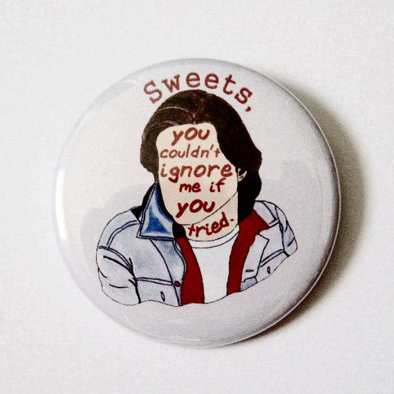 The Breakfast Club 80s Bender pinback button by swelldameinc, $3.00