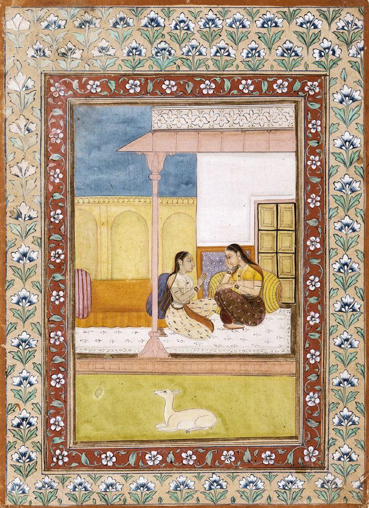 Patamanjari Ragini, the Fourth Wife of Bhairava Raga, Folio from a Ragamala (Garland of Melodies). India, Rajasthan, Bikaner, 1700-1750