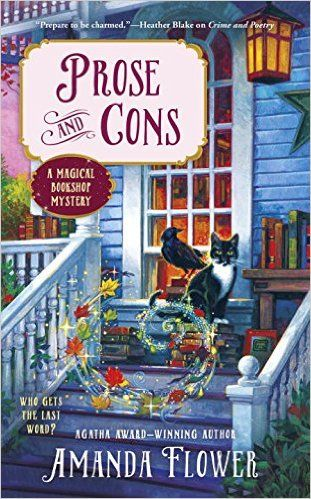 Prose and Cons by Amanda Flower is the second book in A Magical Bookshop Mystery series.  See what I had to say about this new cozy mystery!  http://bibliophileandavidreader.blogspot.com/2016/12/prose-and-cons-magical-bookshop-mystery.html