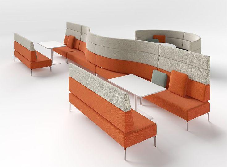 Zenith Interiors: Mobius Modular Lounge