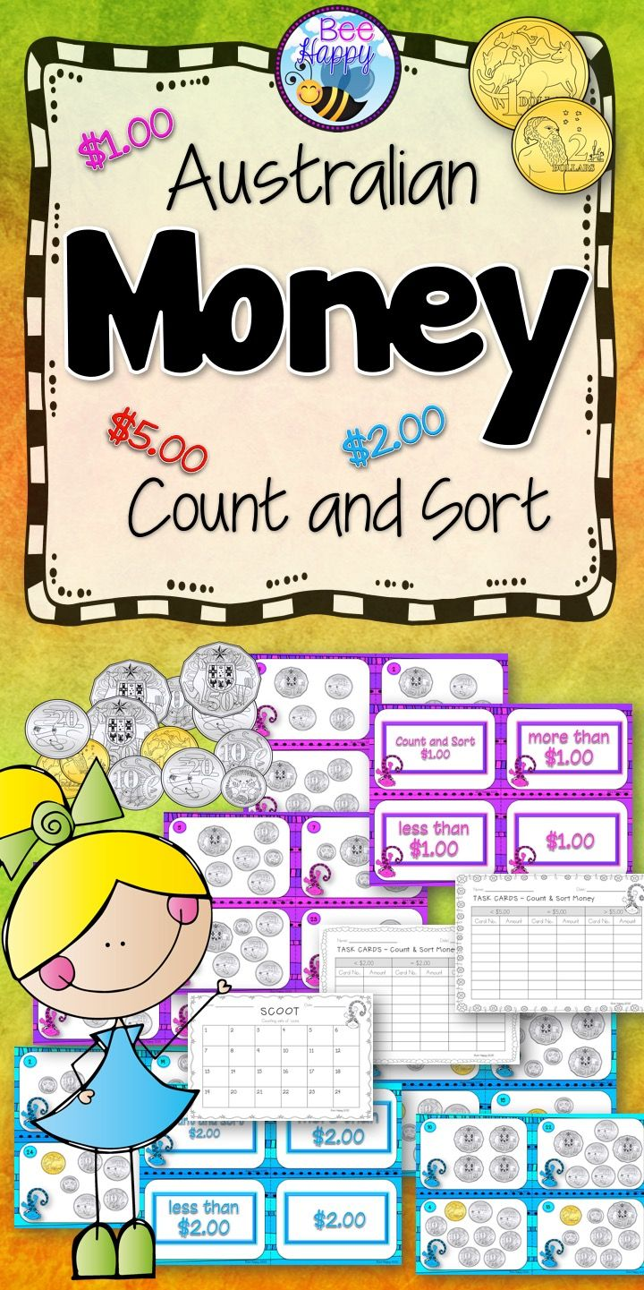 This package includes three Count and Sort activities: Activity 1: Groups of…