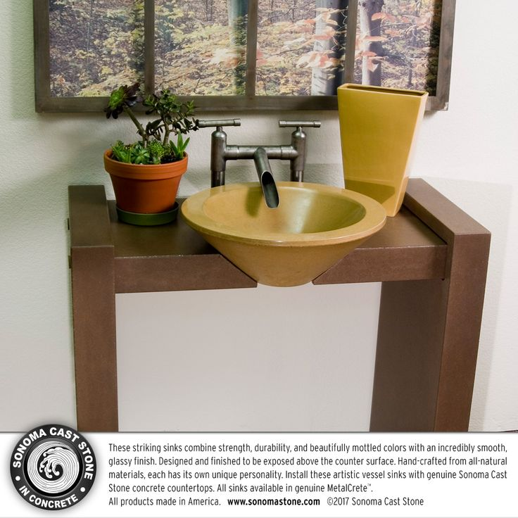 Bathroom Sink Yellow Stain 59 best concrete sinks: wave sinks images on pinterest | concrete