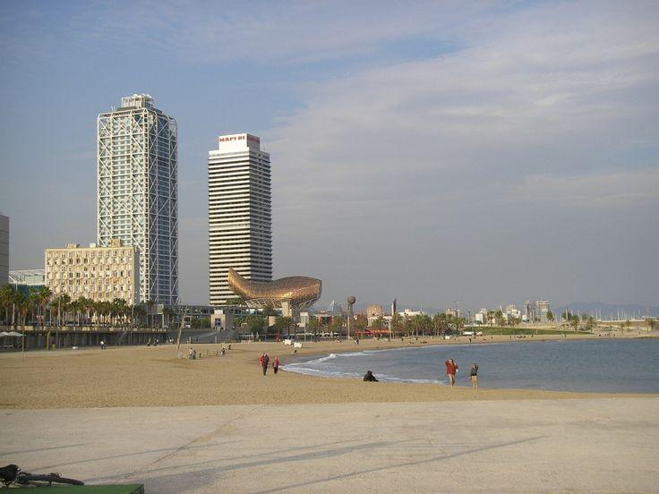 Barcelona som sol og bad destinasjon.