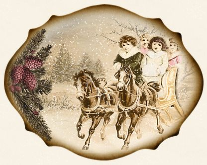 JanetK.Design Free digital vintage stuff: Kersttags