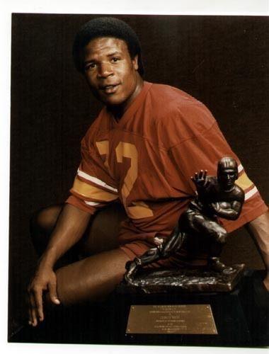 "Charles White Heisman Trophy Winner "" USC Trojans"" 8 x 10"