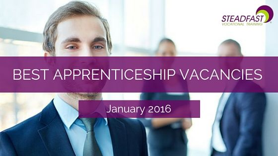 Best Apprenticeship Vacancies this month   January