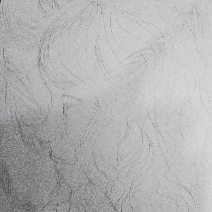 "Sketch I drew inspired by the song ""Tears of an Angel"""