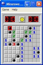 I dont think Ive played this game since 1998.  It was the most frustrating thing ever   - minesweeper