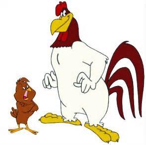 Foghorn Leghorn And Henery Hawk