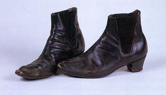 John's Beatle boots