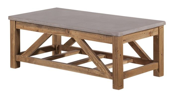 Vintage Industrial Coffee Table - Products - 1825 interiors