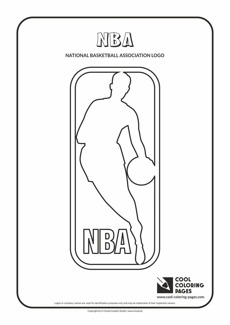 17 Best Images About Nba Teams Logos Coloring Pages On