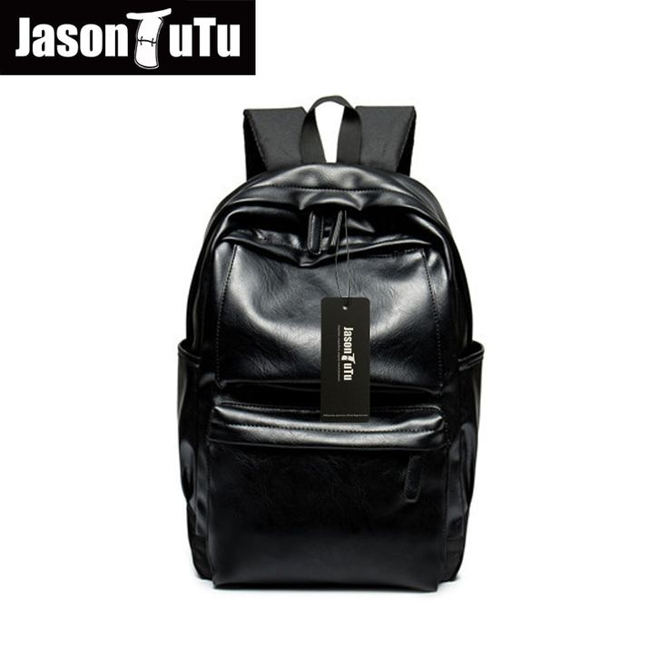 JASON TUTU Men's Backpack Male Black Book bag Mochila Masculina Knapsack Travel Mens Backpacks Mochilas Para Hombre B204 #Affiliate