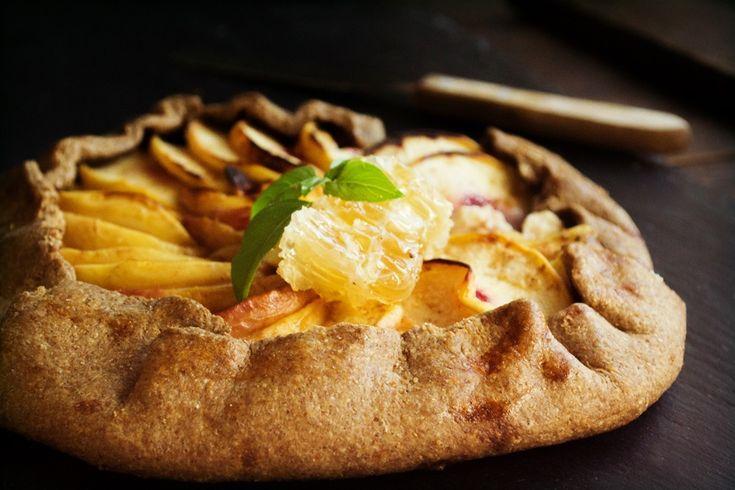 Μια Τάρτα με Ροδάκινα, Μέλι και Κατσικίσιο Τυρί και άλλες 23 συνταγές με ροδάκινα, νεκταρίνια και γιαρμάδες για κάθε ενδεχόμενο! #absolutepeachlover