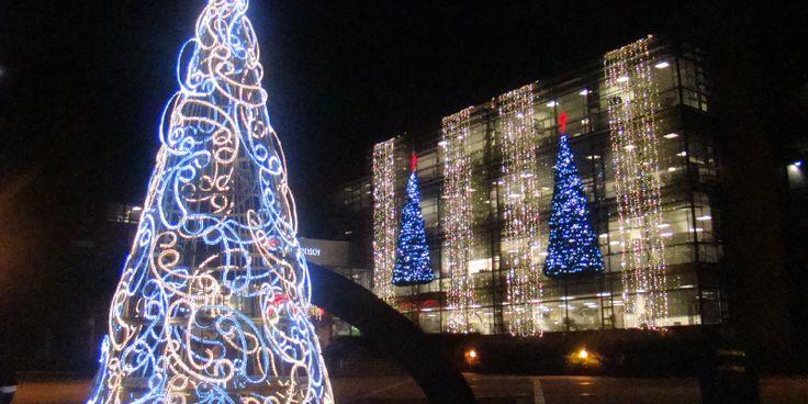 Iluminación de navidad para exteriores.