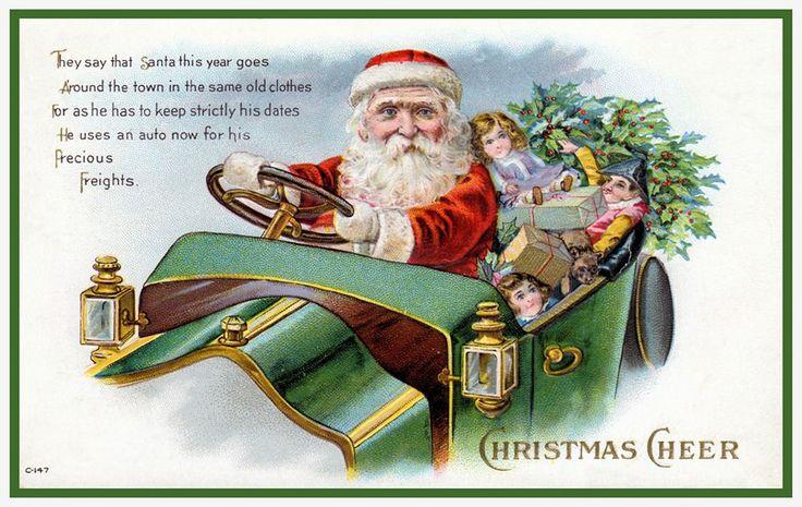 Modern Santa -- 1911