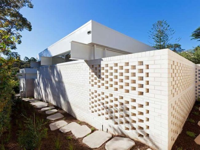 50 Breeze Block Wall Ideas 52 Breeze Block Wall Breeze Blocks House On A Hill