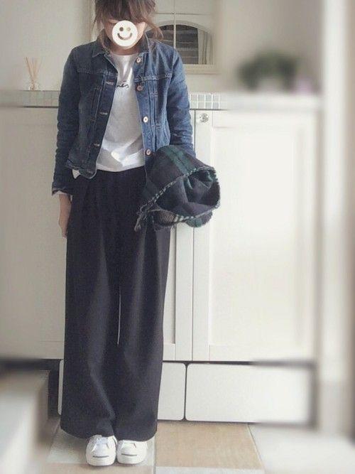 agnes b.のTシャツ・カットソー「S137 TS」を使ったmiiimのコーディネートです。WEARはモデル・俳優・ショップスタッフなどの着こなしをチェックできるファッションコーディネートサイトです。